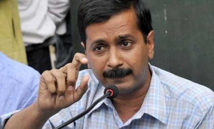 kejriwal writes to lg wants early polls in delhi