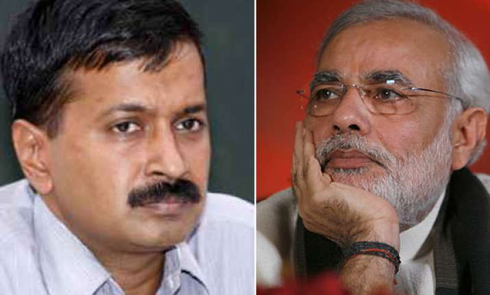 kejriwal alleges narendra modi favoured select corporates