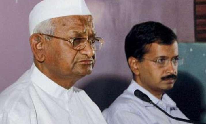 kejriwal may become power hungry anna hazare