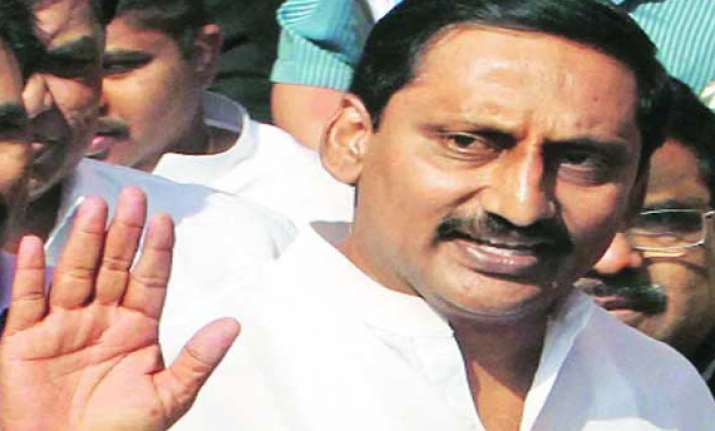 kiran hits out at trs congress during road show
