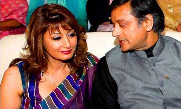 know sunanda pushkar wife of union minister shashi tharoor