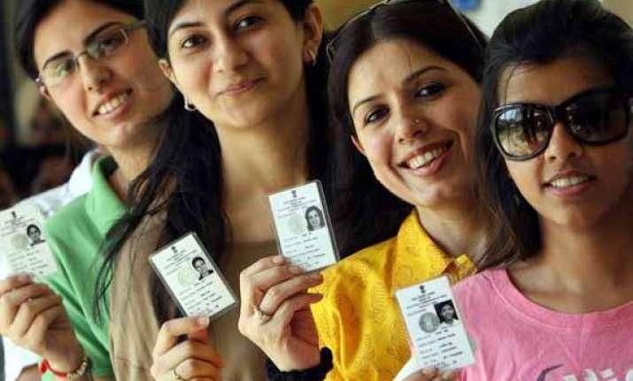 live around 64.77 percent voting recorded in delhi