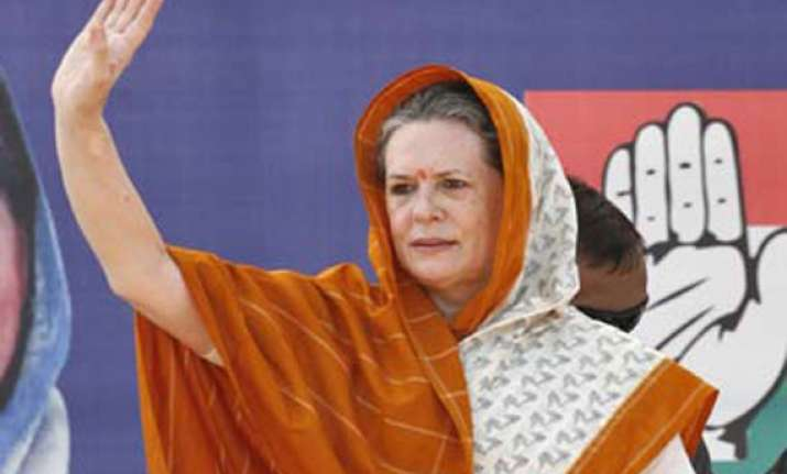 modi used martyrs for political gains sonia