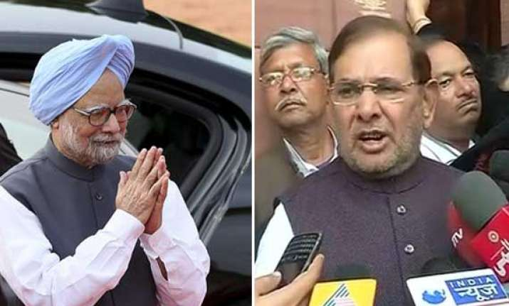 ls pepper spray sharad yadav meets pm demands action