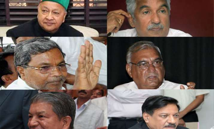 ls polls 2014 congress asks its chief ministers either to