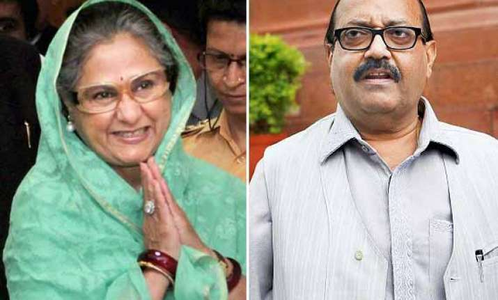 ls polls 2014 jaya bachchan to campaign against amar singh