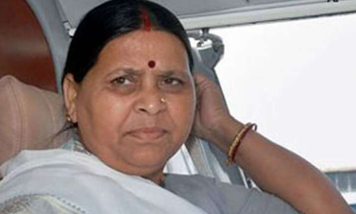 ls polls rabri devi optimistic of tie up with congress