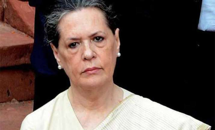 ls polls sonia to discuss strategy with party mps on monday