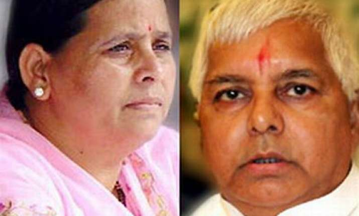 rabri devi to lead rjd asks workers to keep unity