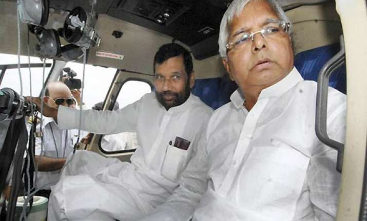 lalu paswan will continue to hanker for berths says sushil