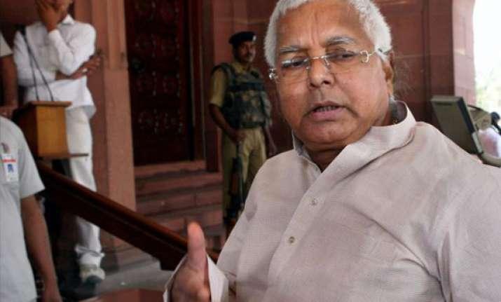 lalu demands cbi probe into ranvir sena chief killing