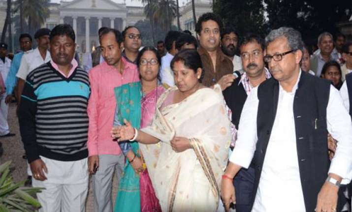 left trinamool mlas trade blows inside west bengal assembly