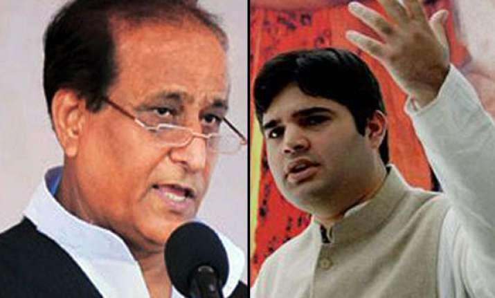 let azam khan fight against varun gandhi bjp