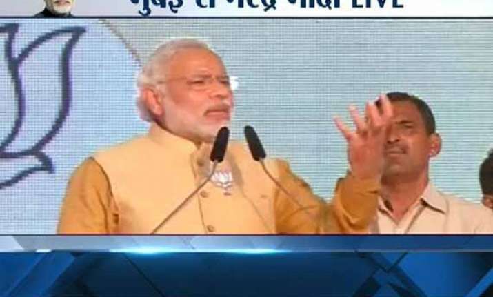 live modi shares dais with uddhav for the first time calls