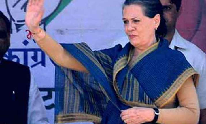 live sonia gandhi to address rally in guntur andhra pradesh