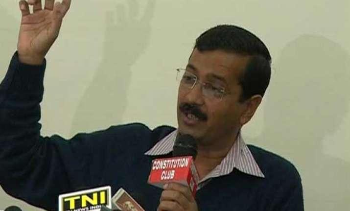 live reporting arvind kejriwal targets narendra modi