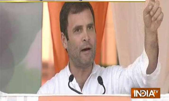 live reporting modi mocks people of india says rahul gandhi