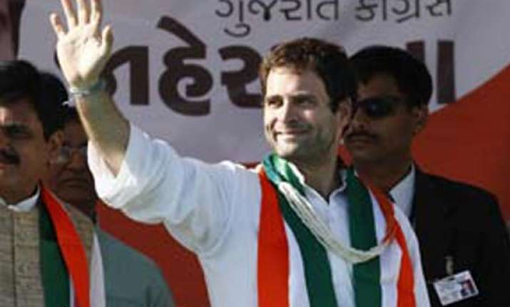 live reporting rahul gandhi lashes out at bjp for divisive