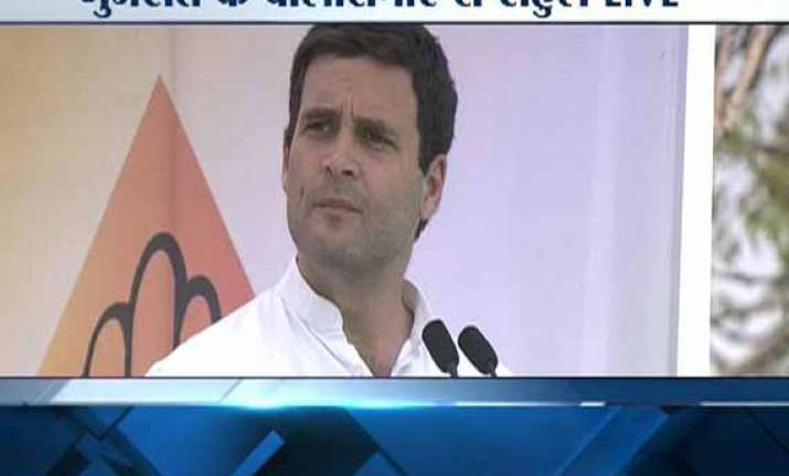 live reporting rahul gandhi compares modi with hitler