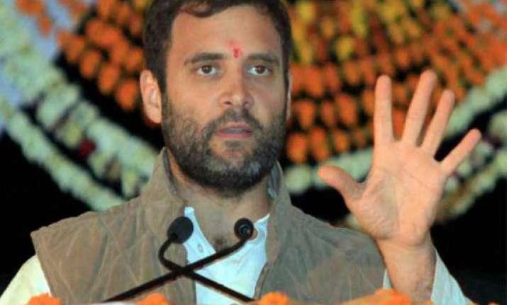 live reporting rahul gandhi addresses arunachal pradesh