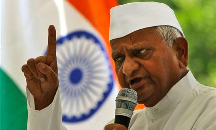 lokpal right to reject can eliminate graft hazare