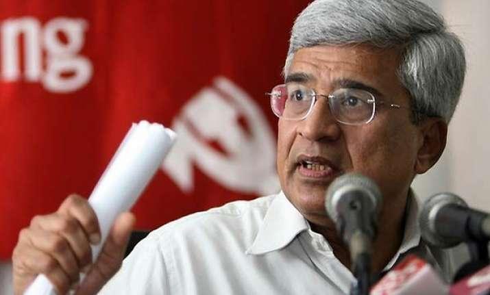 lokpal bill in present form not acceptable says karat