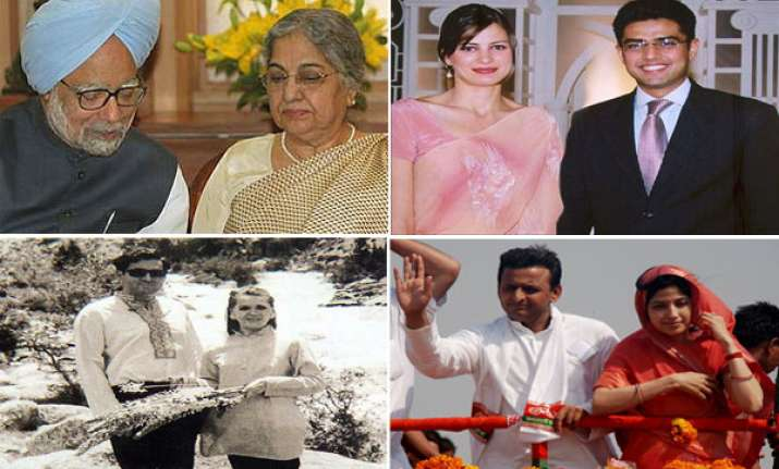 loving couples in indian politics