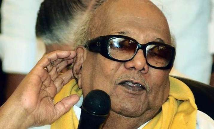 low key birthday celebrations for karunanidhi
