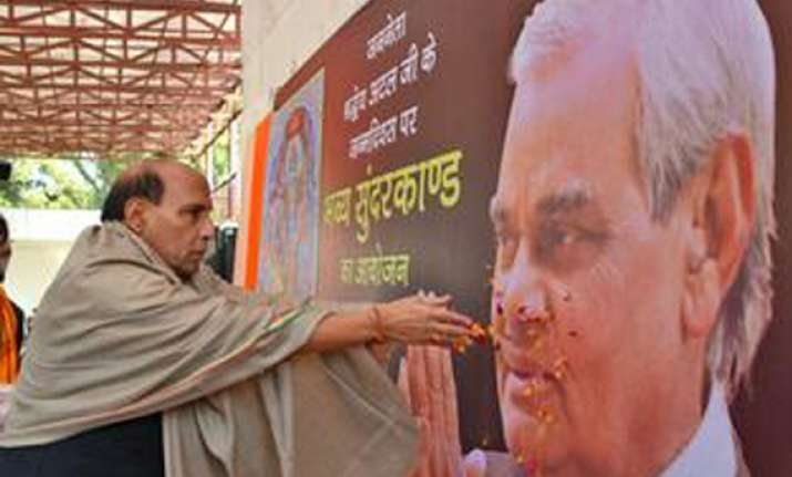 lucknow poll will be fought on vajpayee s legacy