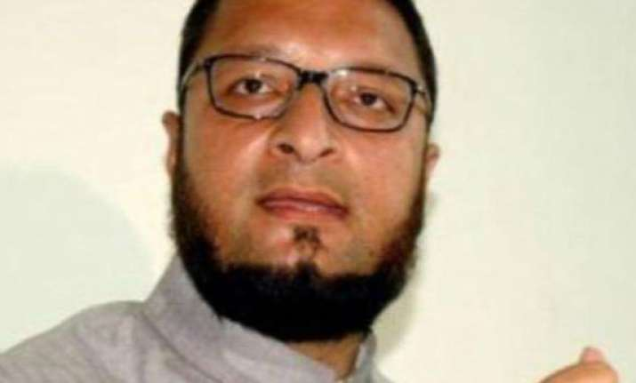mim chief meets sonia opposes hyderabad as union territory