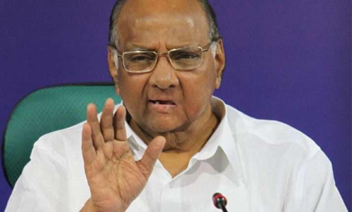 maharashtra poll authorities take cognisance of pawar s