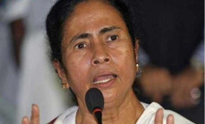 mamata alleges bjp collecting modi for pm funds