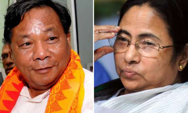 mamata asks sangma to withdraw if kalam agrees to contest
