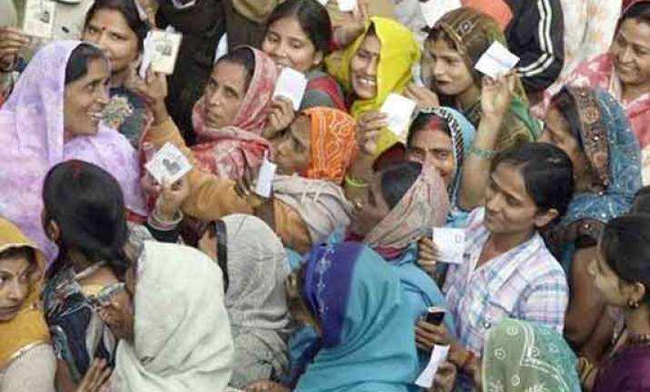 massive turnout during re polling in uttar pradesh