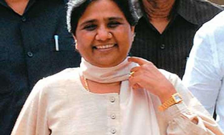 mayawati to campaign in haryana tomorrow