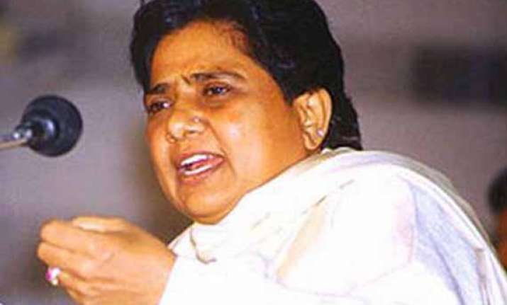 mayawati to launch up campaign thursday