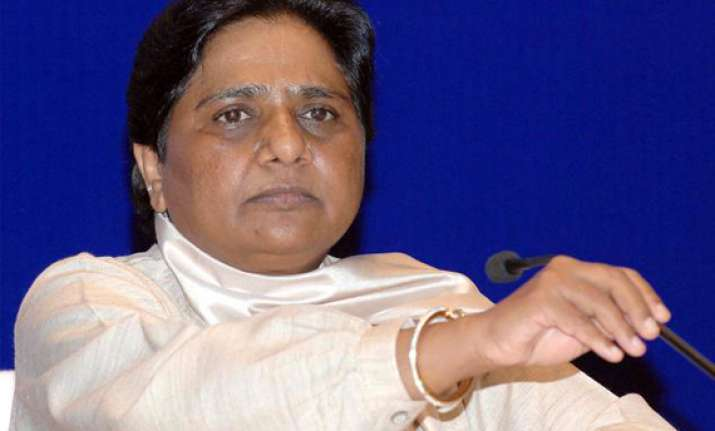 mayawati in poll mode orders early completion of schemes