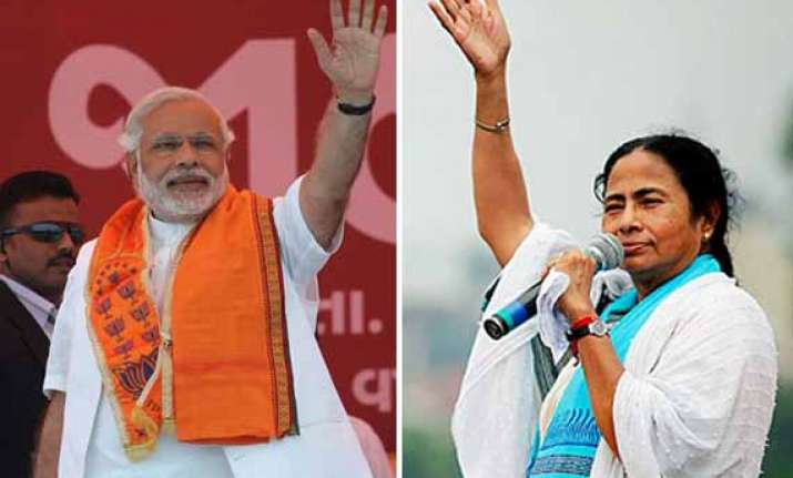 modi mamata spat is it real or stage managed