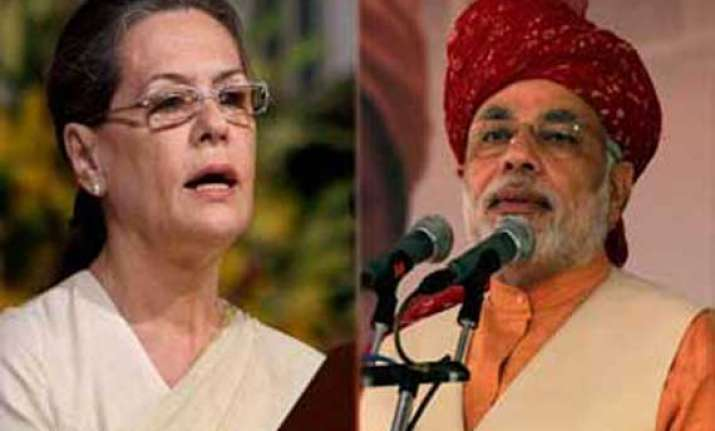 modi asks sonia to leave with dignity
