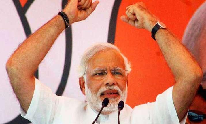 modi challenges sonia s secularism