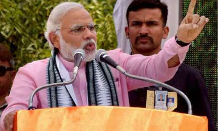 modi dares sonia for public debate on gujarat