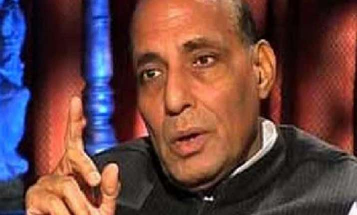 modi did not recommend amit shah for up says rajnath