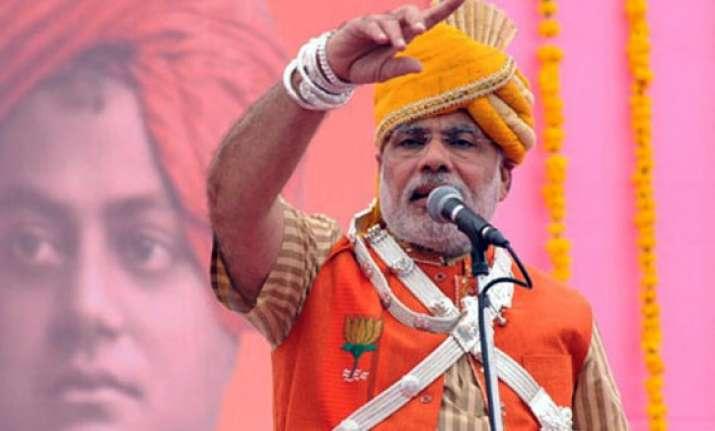 modi far ahead of rivals in hindi heartland says survey