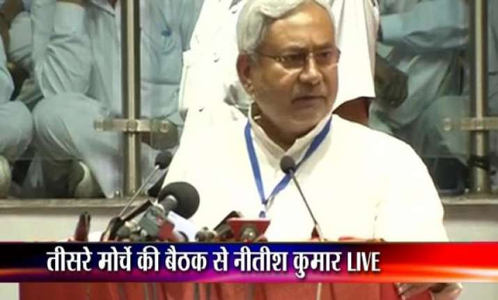 modi is obsessed with his dream to become pm says nitish