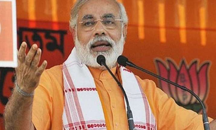 modi issue bjp trying to save nda bjp leaders pull out all