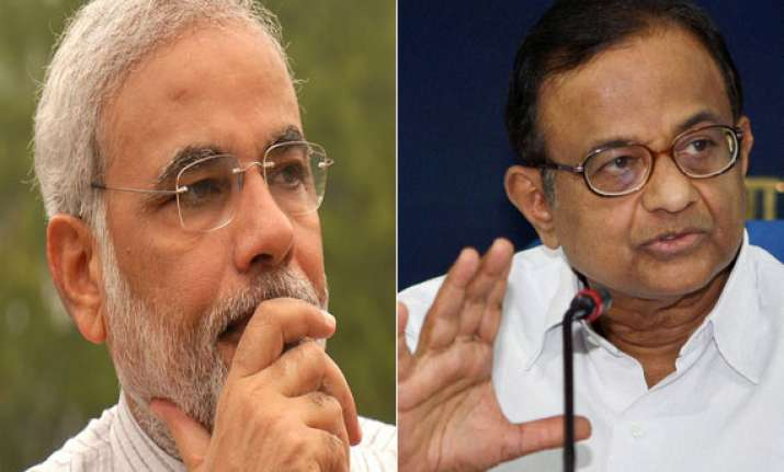 modi tears into chidambaram says hardwork not harvard pays