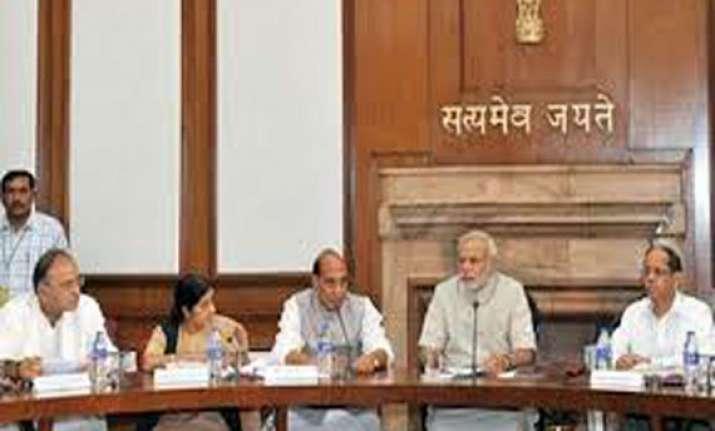 modi meets ministers stresses efficient governance