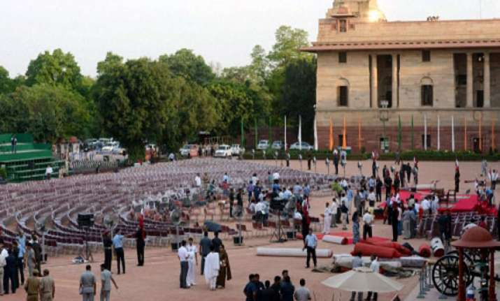 narendra modi s swearing in one of the biggest functions in