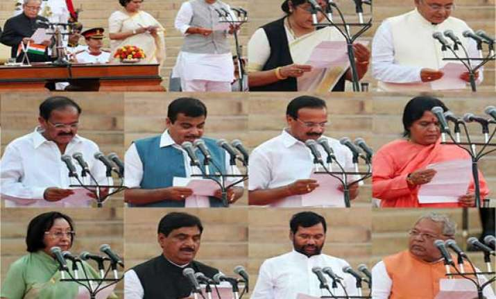 modi s cabinet ministers who got what