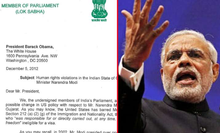 modi us visa read what indian mps along with signatures